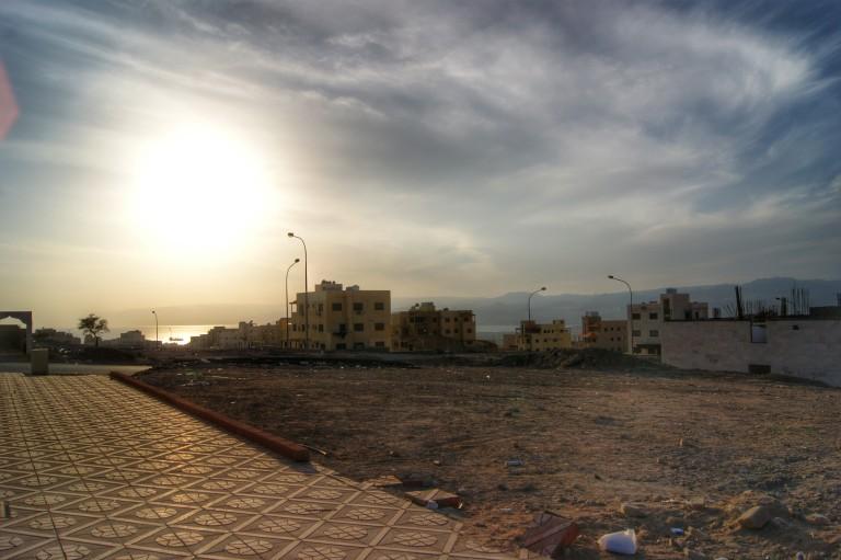Barrio de Aqaba (Jordania)  /    Aqaba neighborhood ( Jordan)